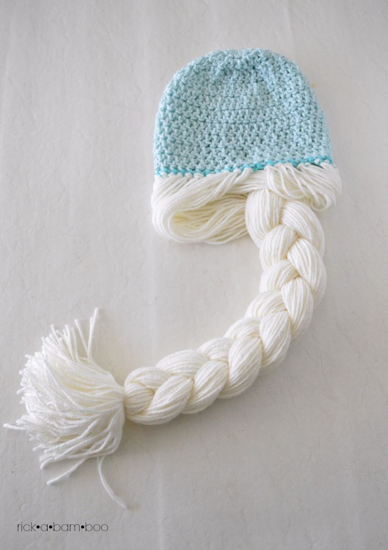Frozen - Elsa Crochet Hat ~ free pattern - also with Anna ...