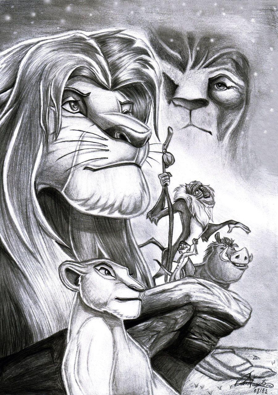 Uncategorized Lion King Sketch lion king blakc white sketch drawings pinterest lions sketch