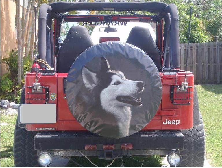 Custom Spare Tire Cover With Dog Custom Spare Tire Covers Spare