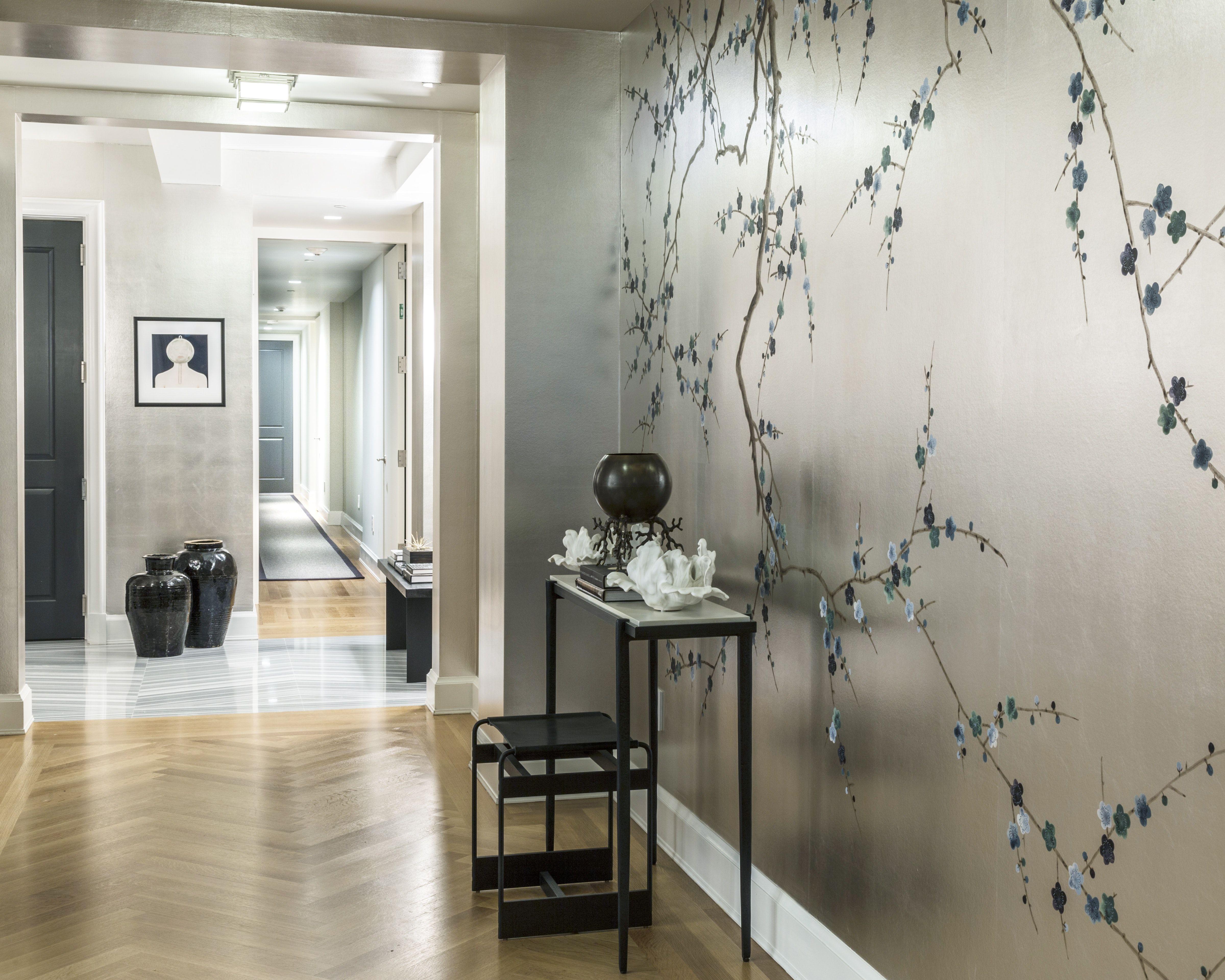 Contemporary hallway ideas   Gramercy Park South  rd Floor  Foyer  Nice rooms  Pinterest