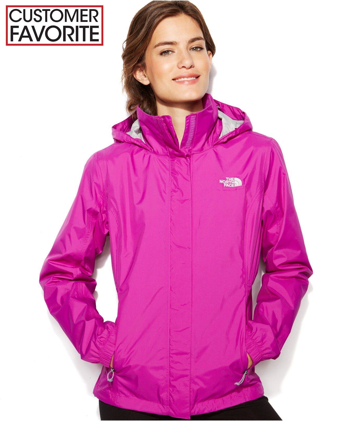 The North Face Jacket Resolve Zip Up Waterproof Jackets Blazers Women Macy S North Face Jacket Blazer Jackets For Women Jackets [ 1616 x 1320 Pixel ]