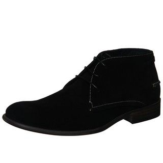 Steve Madden Men's 'Brentt' Black Suede Chukka Boots by Steve ...