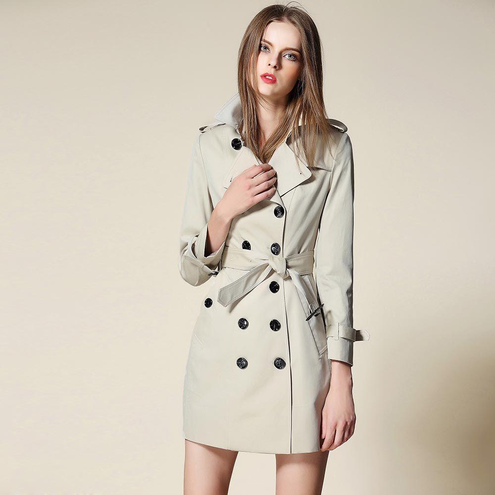 new women trench coat spring womens clothing windbreaker