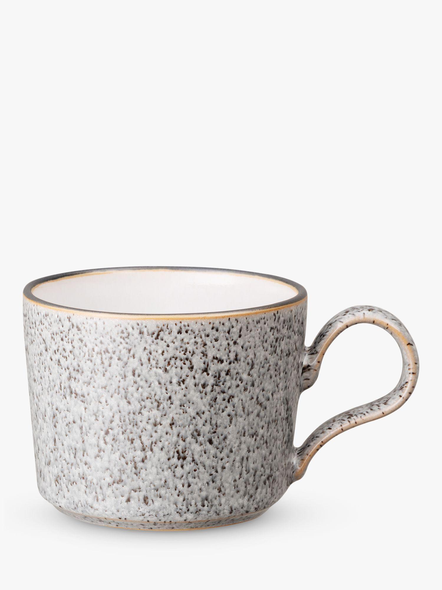 Denby Studio Grey Tea Coffee Cups Set Of 2 260ml In 2020 Grey Tea Coffee Tea Coffee Cups
