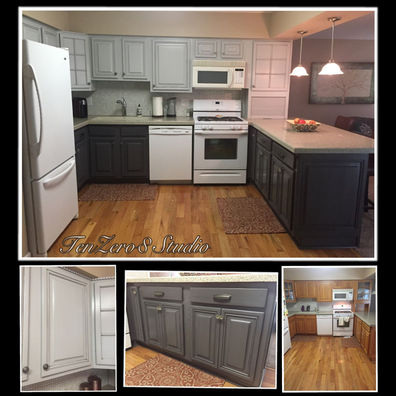 Best Kitchen By Tenzero8 Studio In General Finishes Seagull 400 x 300