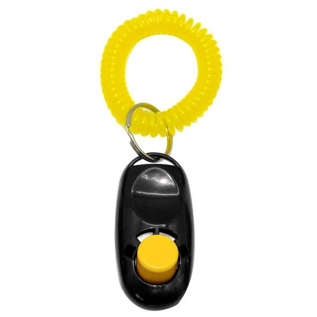 Dog Clicker Training Trainer With Key Ring And Wrist Strap In 7