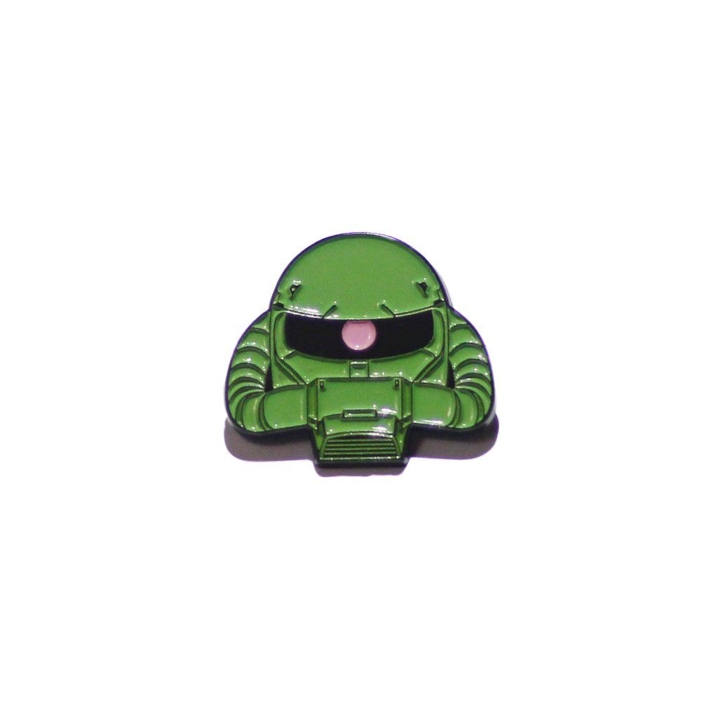 Zaku pin | Pins and Patches | Pin, patches, Hat pins, Lapel pins