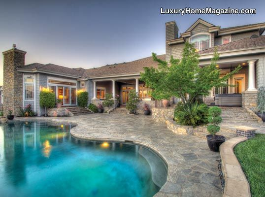 luxury home magazine sacramento luxury homes pools backyards design - Luxury Homes With Pools