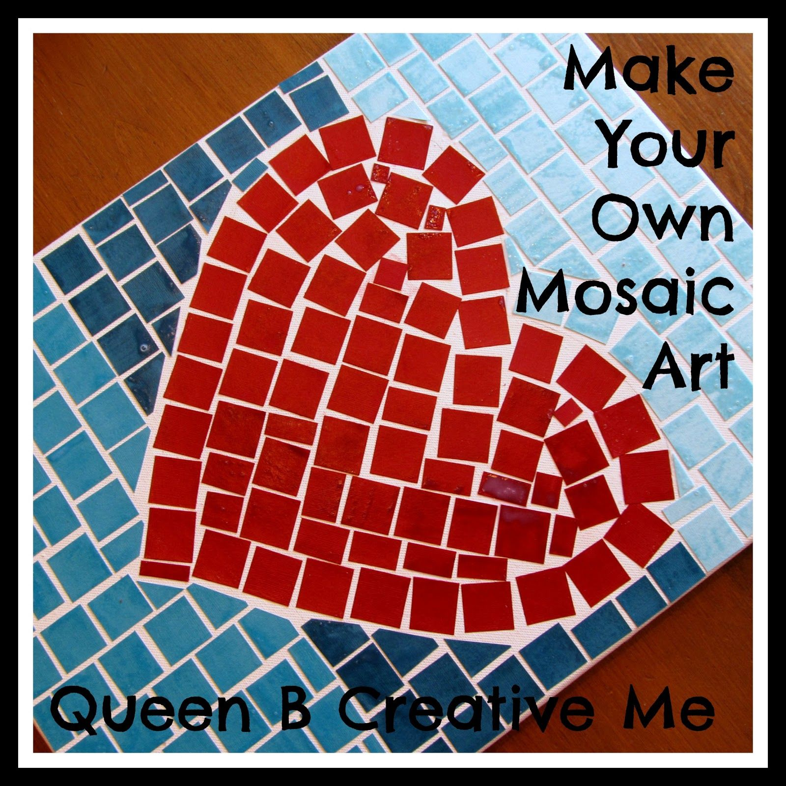 Pocket Full of Pink Making your own Mosaic Art Mosaic