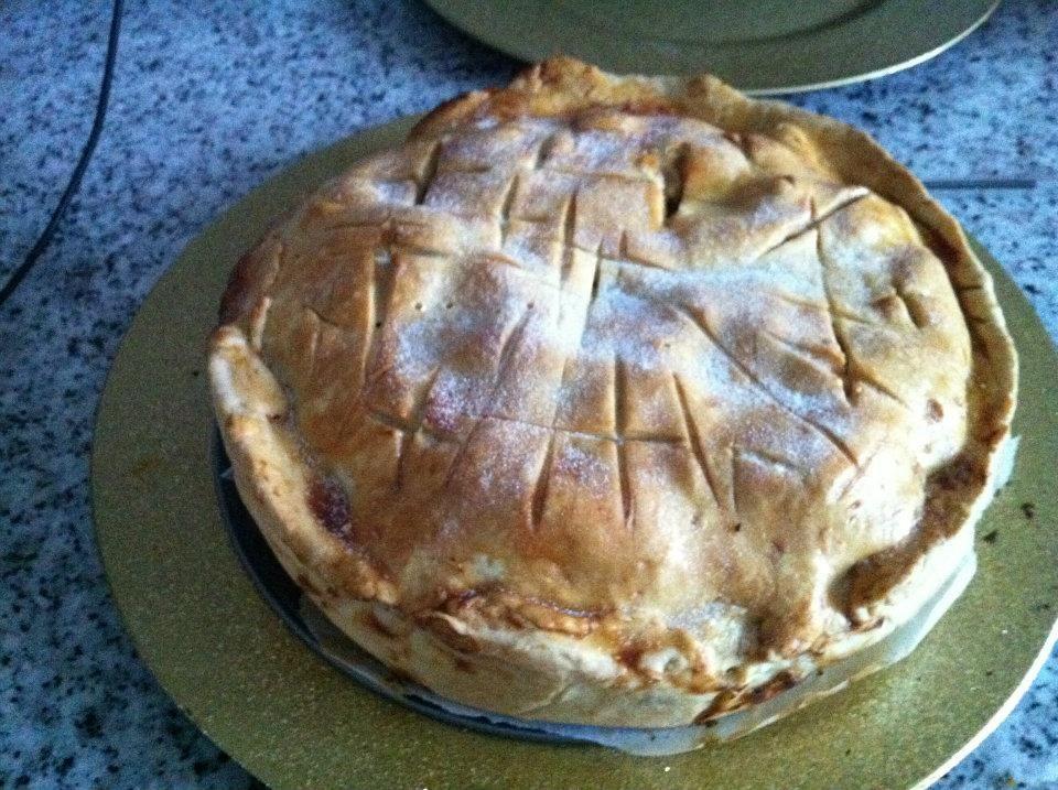 apple pie  torta americana con dentro mele  buona anche con pere o pesche      La ricetta  http://universeofnails.forumfree.it/?t=61547822#lastpost