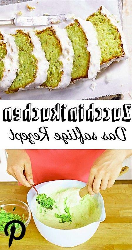 Zucchinikuchen backen  das beste Rezept Zucchinikuchen backen  das beste Rezept