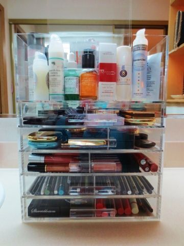 The SherriBlossom Icebox Makeup Organizer! Review And Pics! Prime Beauty  Blog
