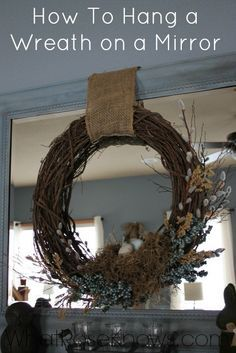 Where To Buy Cheap Throw Pillows Under 12 Each What Rose Knows Wreath Mirror Wreaths Decor