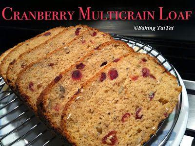Baking Taitai 烘焙太太: Baking Taitai's Breadmaker Multigrain Loaf