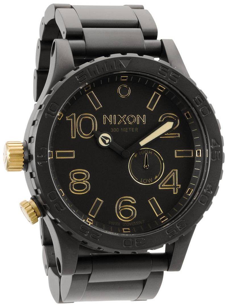 Nixon watch nixon the tide watch matte blackgold