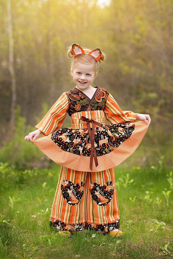 Little Girls Outfit - Woodland Fox Birthday #clothing #children #dress @EtsyMktgTool http://etsy.me/2CUGXz3 #woodlandfox #foxbirthday #fox