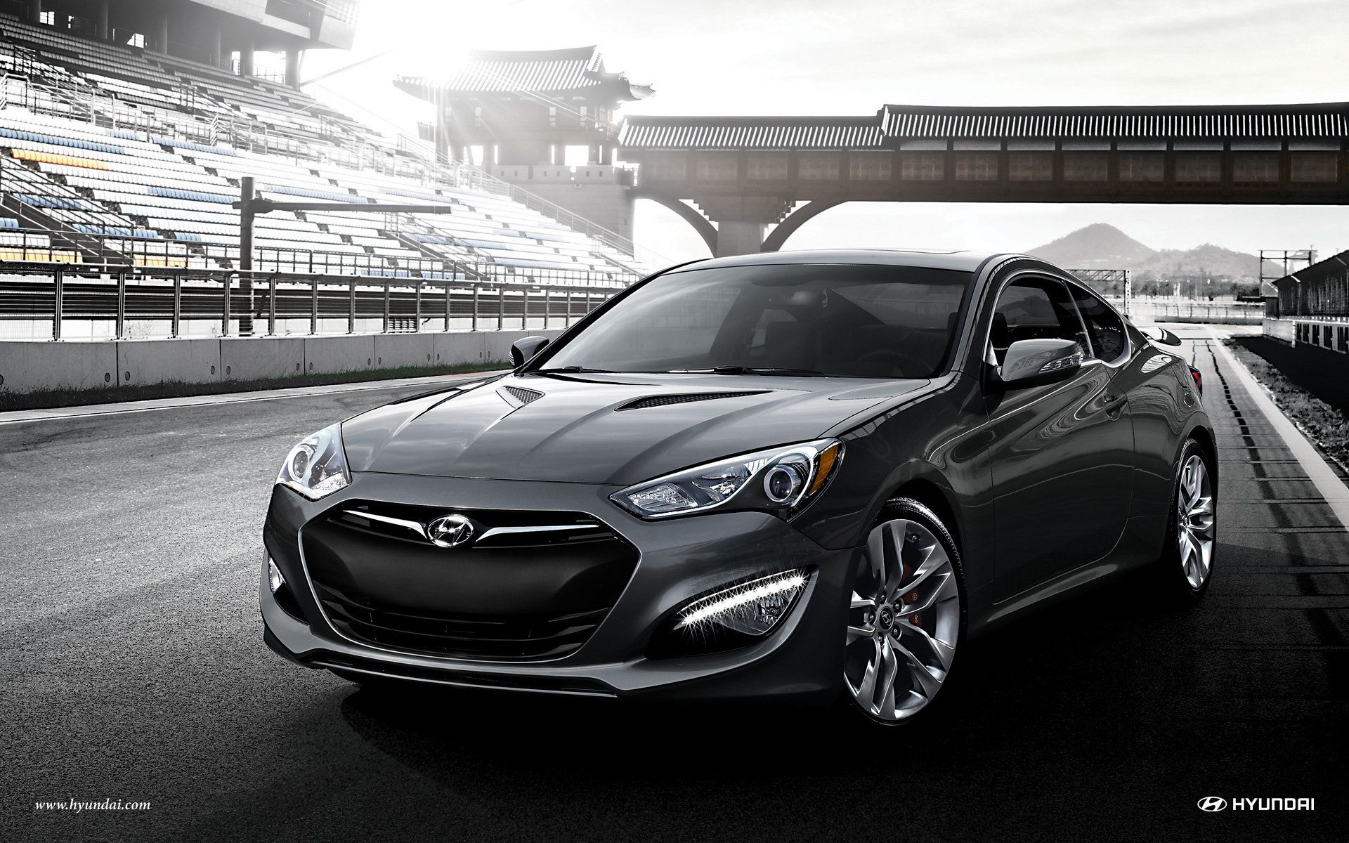 2015 Hyundai Genesis Coupe Wallpaper Hd Wallpaper Hyundai