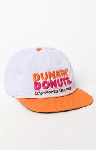 c1b84530df90e Dunkin  Donut Snapback Hat