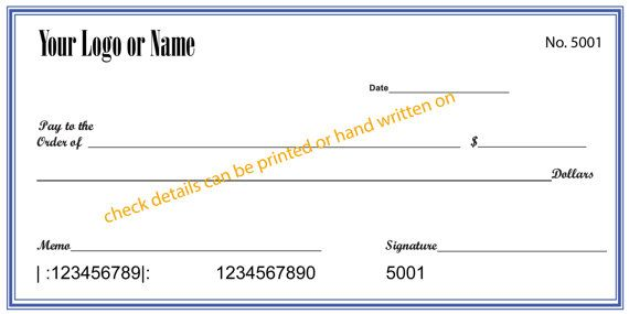 Custom Giant Checks Oversize Checks From Small To Large