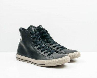 2converse botín negras