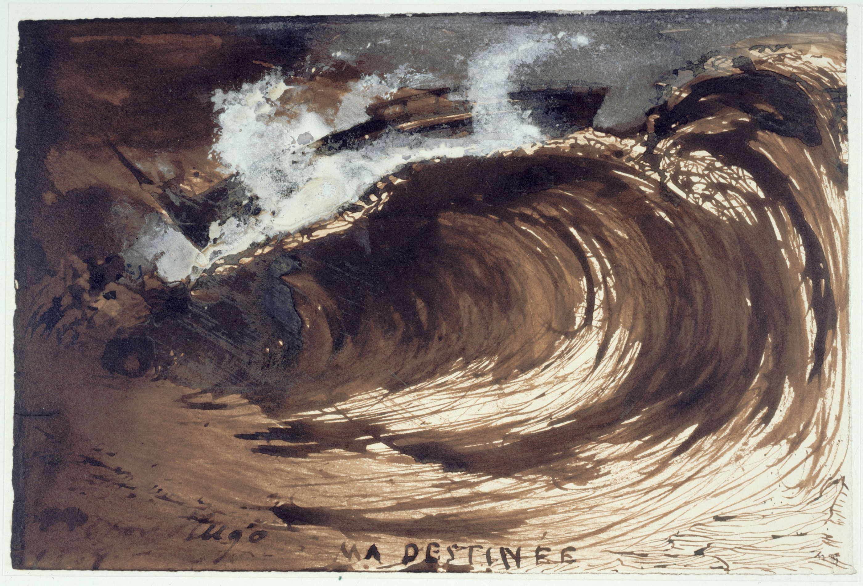 Image Result For Victor Hugo Drawing My Destiny Victor Hugo Maison De Victor Hugo Paysage Mer