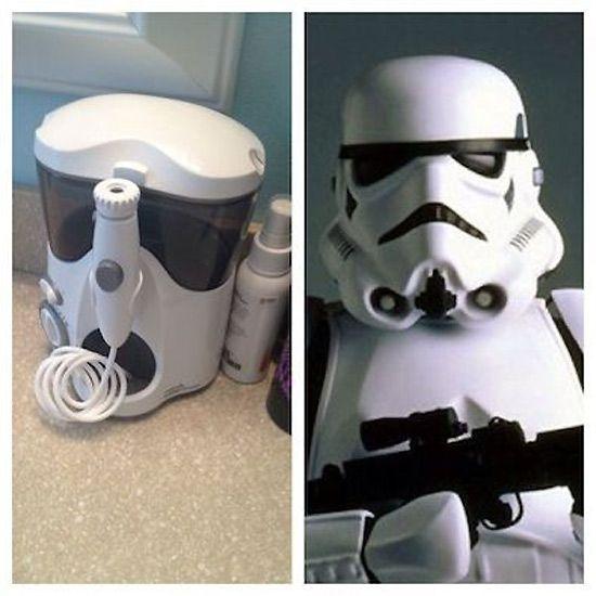 Parecidos razonables: stormtrooper.