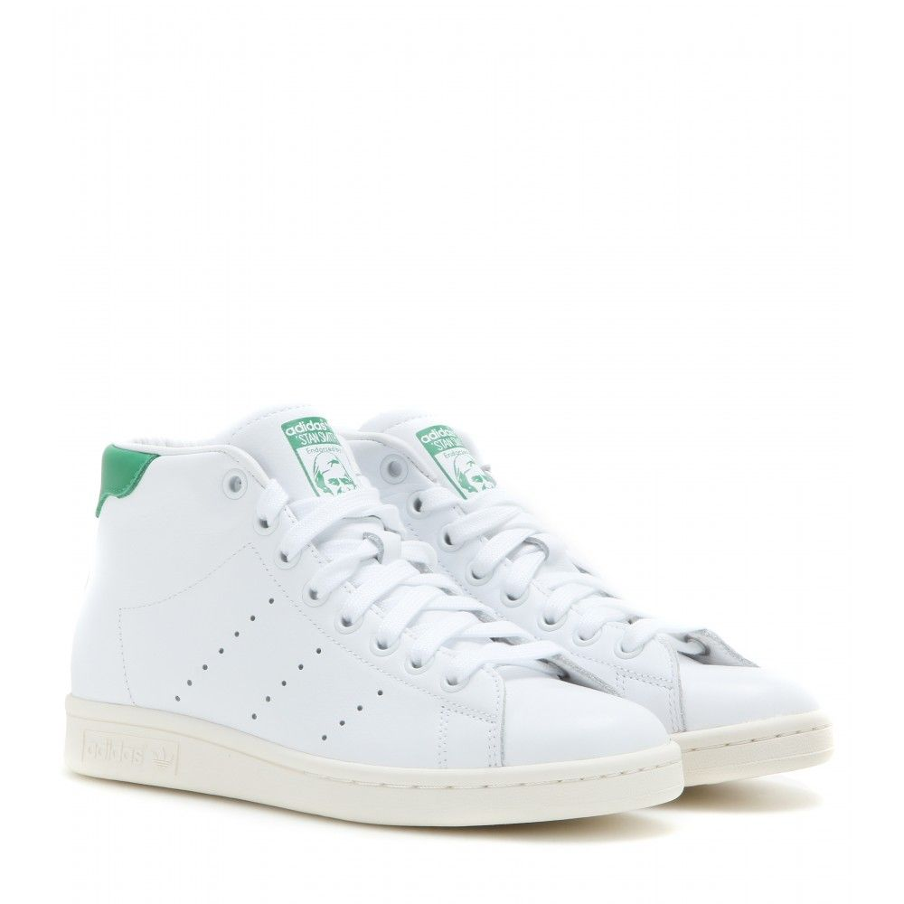 Adidas - Stan Smith Mid leather high-top sneakers - If they're good