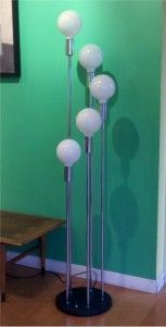 5 GLOBE CHROME STEP LAMP just like our new baby