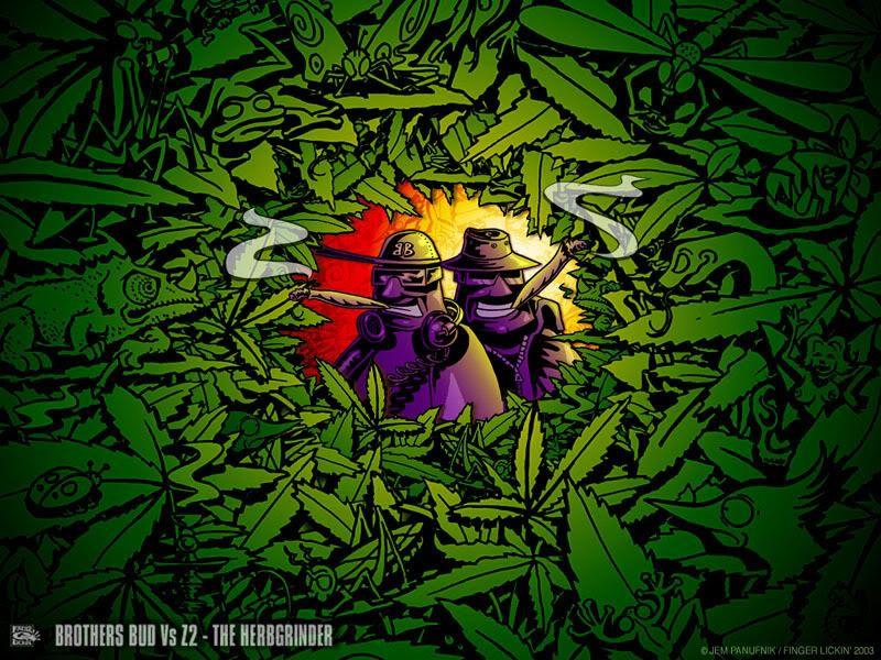 Cartoons Smoking Weed Smoke Everyday Wallpaper Ganja