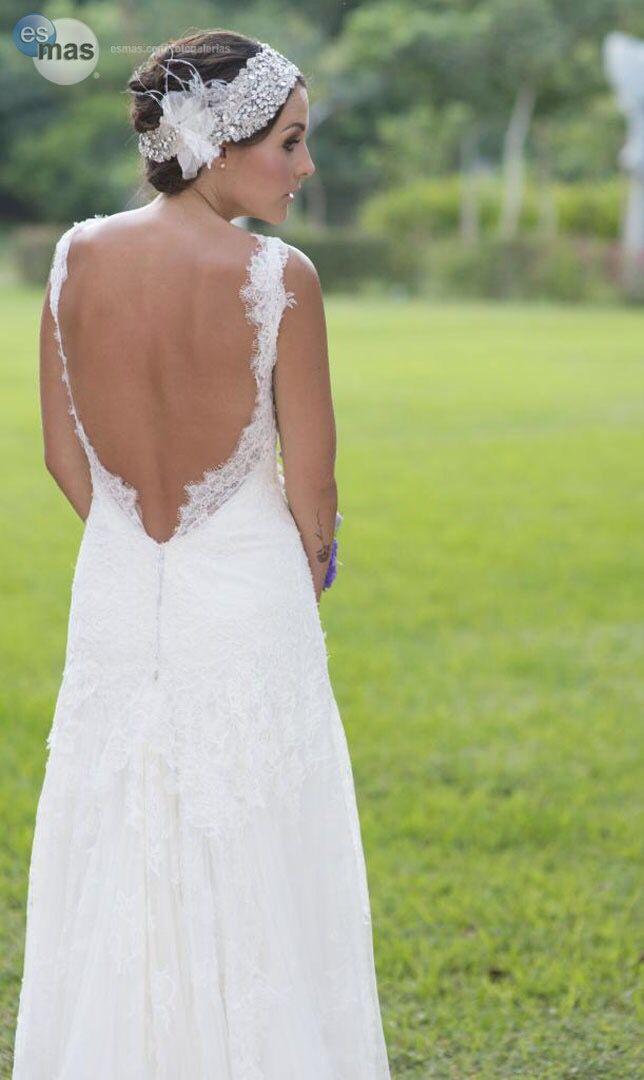 Vestido de novia de zuria vega