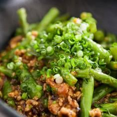 Green Beans With Garlic Black Bean Sauce