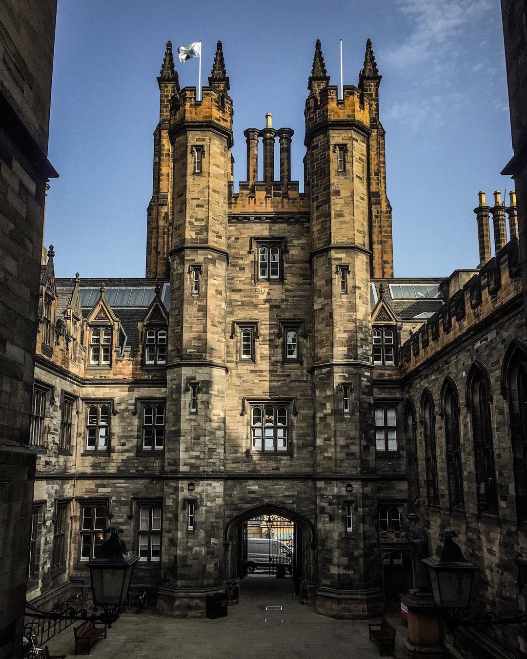 "MyInstaScotland on Instagram ""New College, University of"