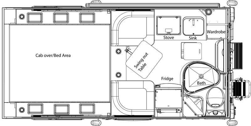 Tcm Exclusive 2019 Cirrus 720 Camper Flooring Short Bed Truck