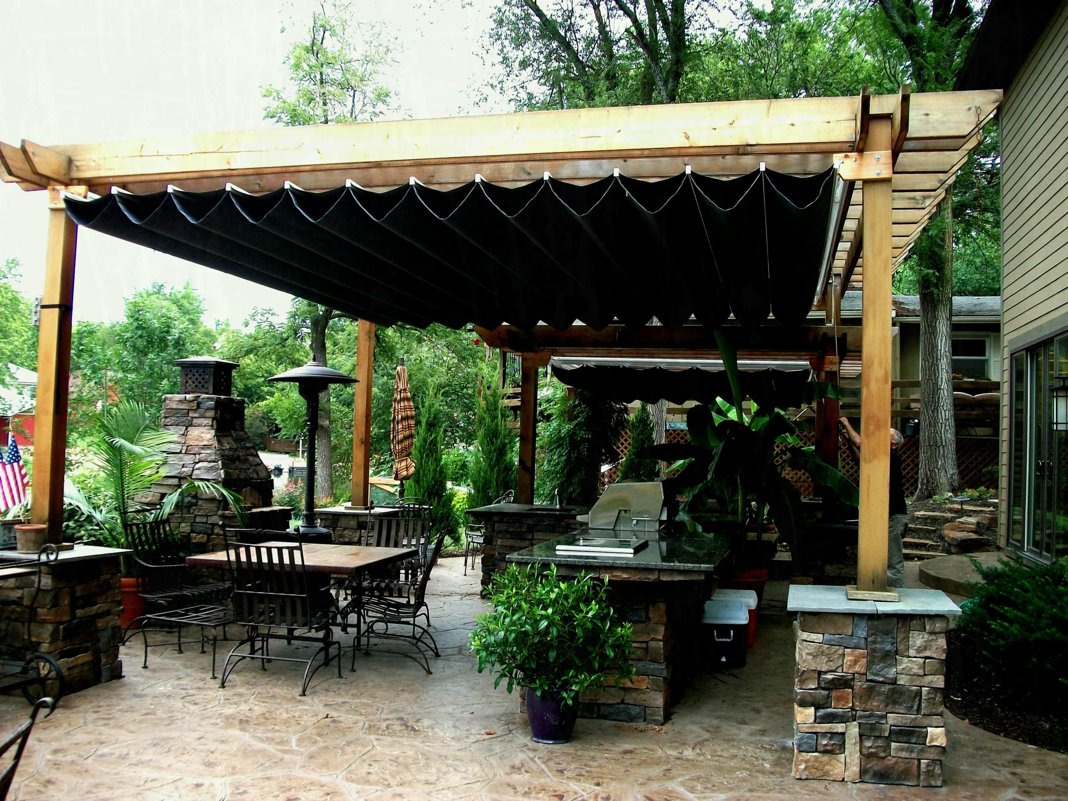 Full Size Of Pergola Design Retractable Awning For Canopy ... on Canvas Sun Shade Pergola id=16857