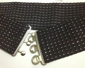"Elastic Belt, Stretch Belt, Elastic Belt, Women Belt, Cinch Belt, Cincher 3"" wide ( 75mm ), Plus size Belt, Plus size"