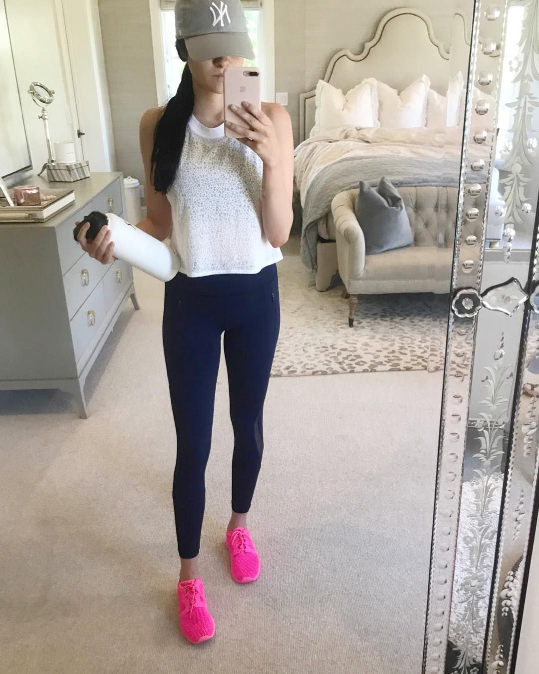 Rach Parcell Pink Peonies On Instagram Cardio Day