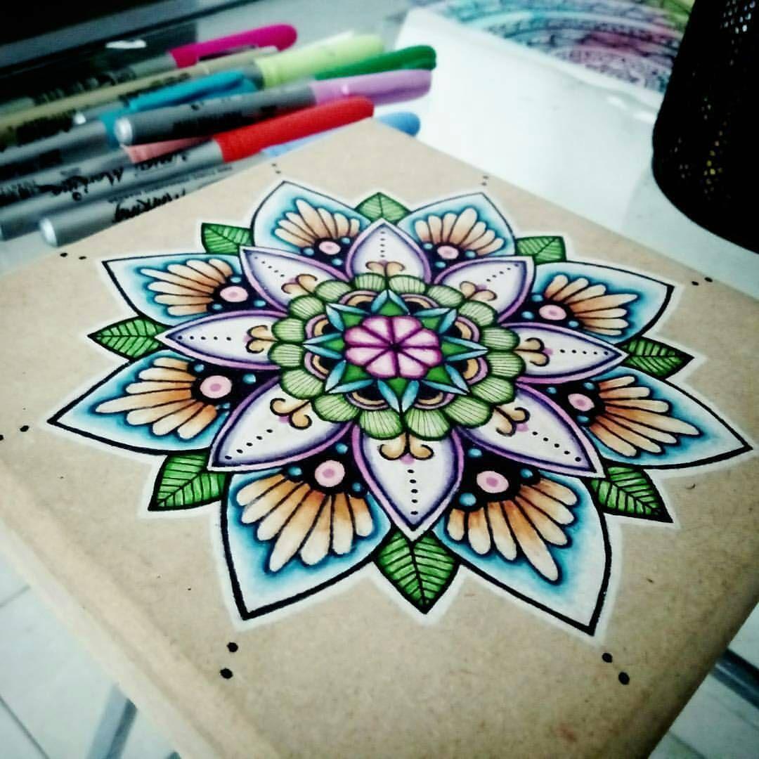 Gorgeous Work Follow The Artist Grizel Portillo Follow For Daily Mandalas Mandalahead Mandala Art Mandala Artwork Mandala Drawing