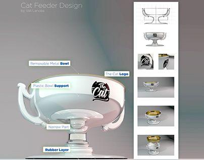 "check out new work on my behance portfolio ""cat feeder"