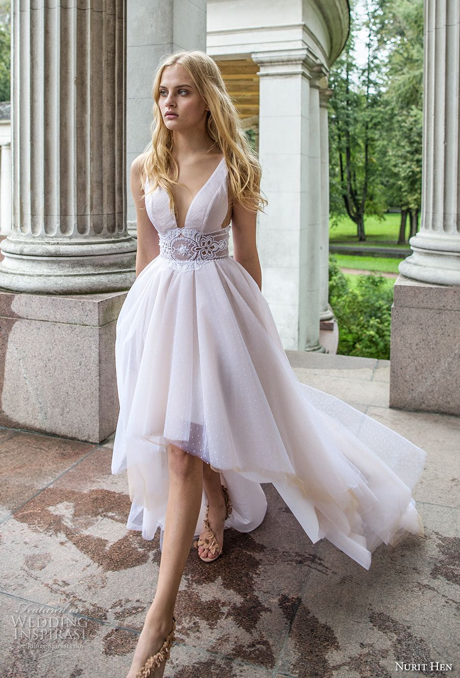 Nurit hen ivory and white wedding dresses dresses casuals