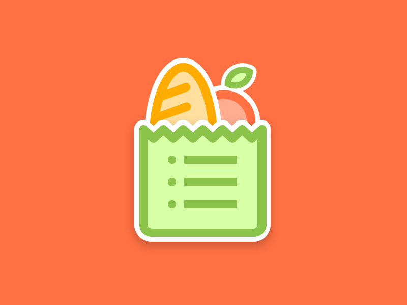 Simple shopping list Android icons, App icon, App