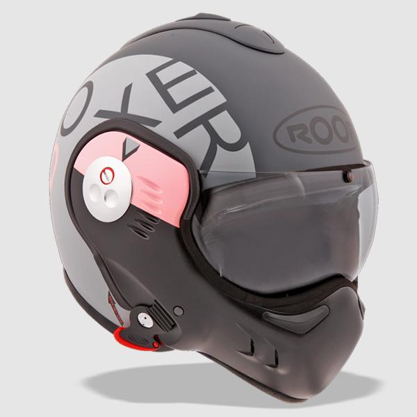 Boxer Motorcycle Helmet By French Company Roof Great Stuff Motorbike Helmet Cool Bike Helmets Cool Motorcycle Helmets