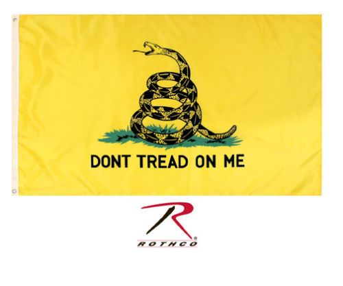 Rothco Yellow Don T Tread On Me Flag 3 X 5 Ebay Dont Tread On Me Flag Flag Banners
