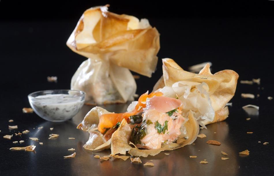 Vous recherchez la meilleure recette de Aumônières de saumon ? Découvrez les délicieuses recettes de Fruit d'Or ProActiv et réduisez votre taux de cholestérol !