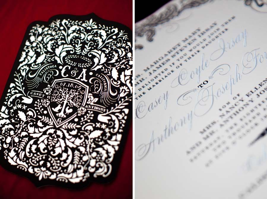 Laser Cut Out Wedding Invitations: Be Inspired By Casey