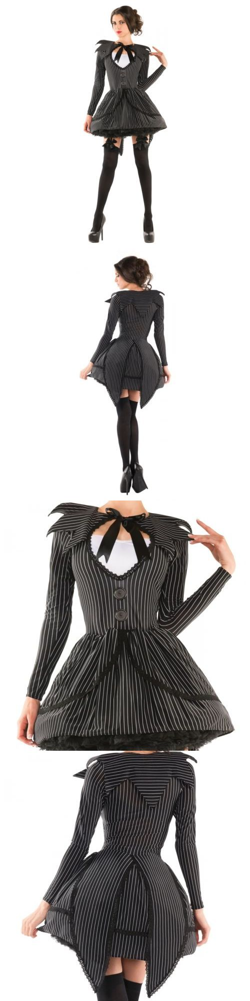 Halloween Costumes Women Jack Skellington Costume Adult
