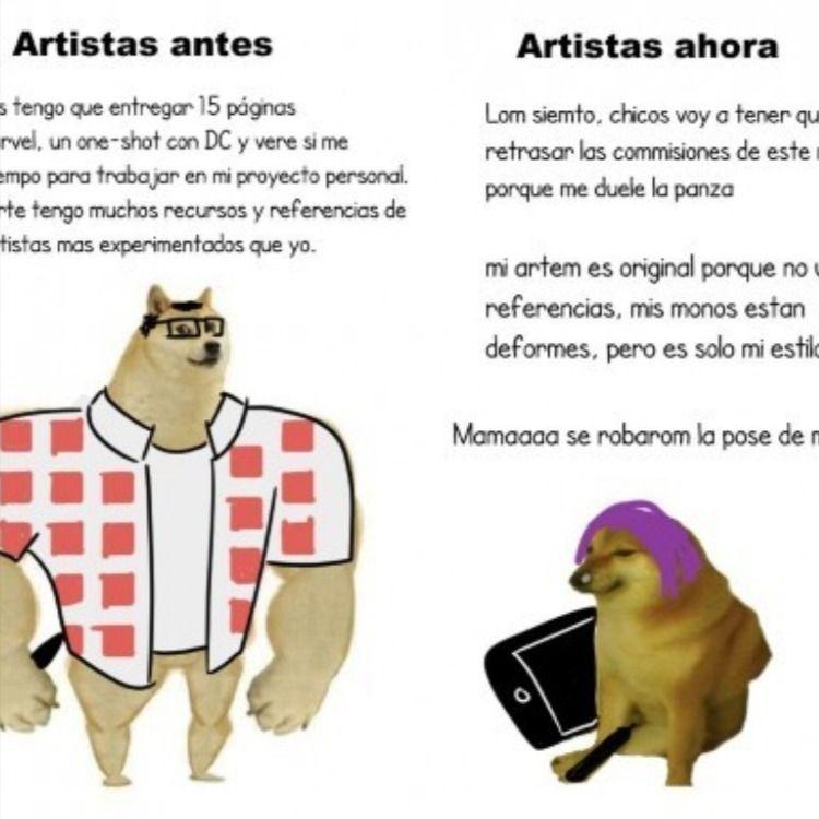 Perro Grande Vs Perro Chico Memes Memes De Chicas Meme Gracioso