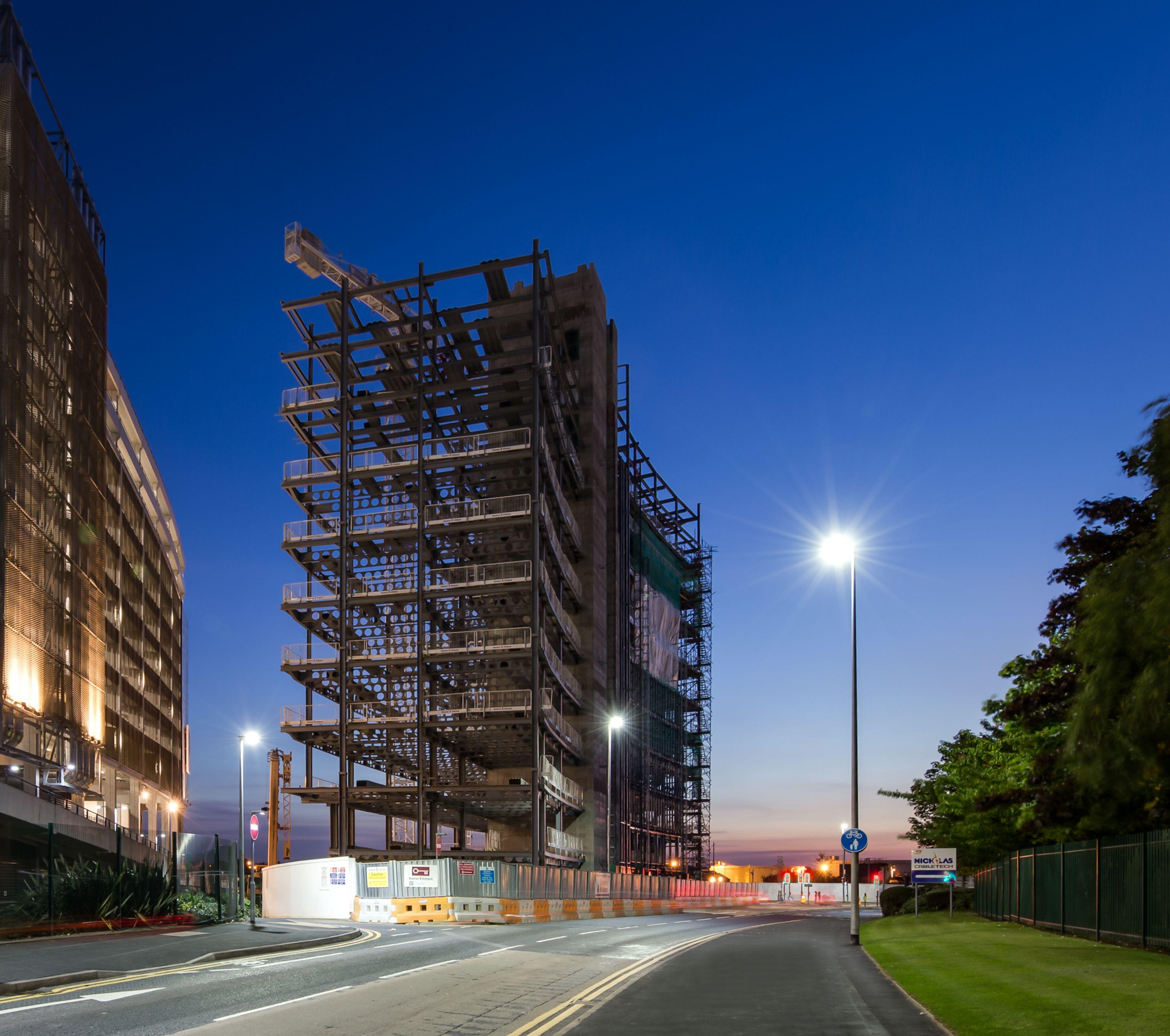 The Tomorrow Building Media City - (C) Spencer McPherson