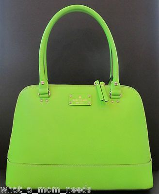 Kate Spade Is Probably Wayyyy Too Expense But This Would Be An Awesome Work Purse Lime Green