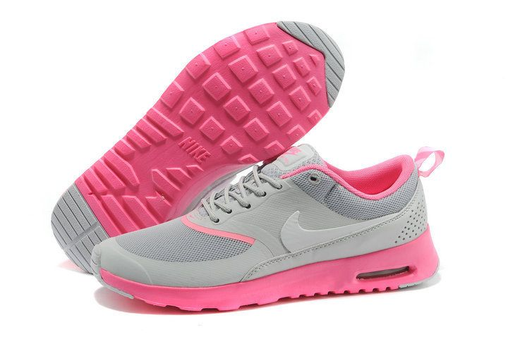 cheque pago Desmañado  Womens Nike Air Max Thea Grey Pink Shoes | Nike air max, Nike air max pink, Nike  air max for women