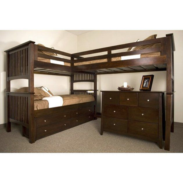 Love The Drawers Under Bottom Bed This May Be The One